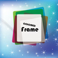 Frame Abstract Design Blue Lines Art Vector
