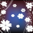 Dark Art Floral Free Vector Graphic