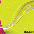 Green Yellow Pink Art Vector Design