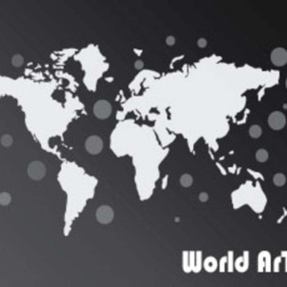 The Black World Free Vector Art