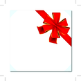Red Vector Gift Ribbon