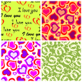 Heart Vector Pattern