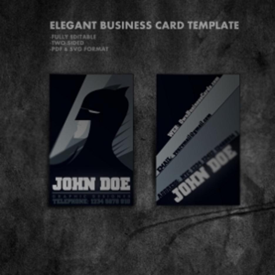 Cartoon Business Card