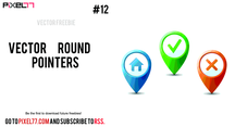 Free Vector Rounded Pointers