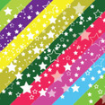 Colored Background Free White Stars