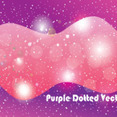 Purple Dotted Shinning Vector Graphic