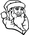 Santa Claus Drawing Vector