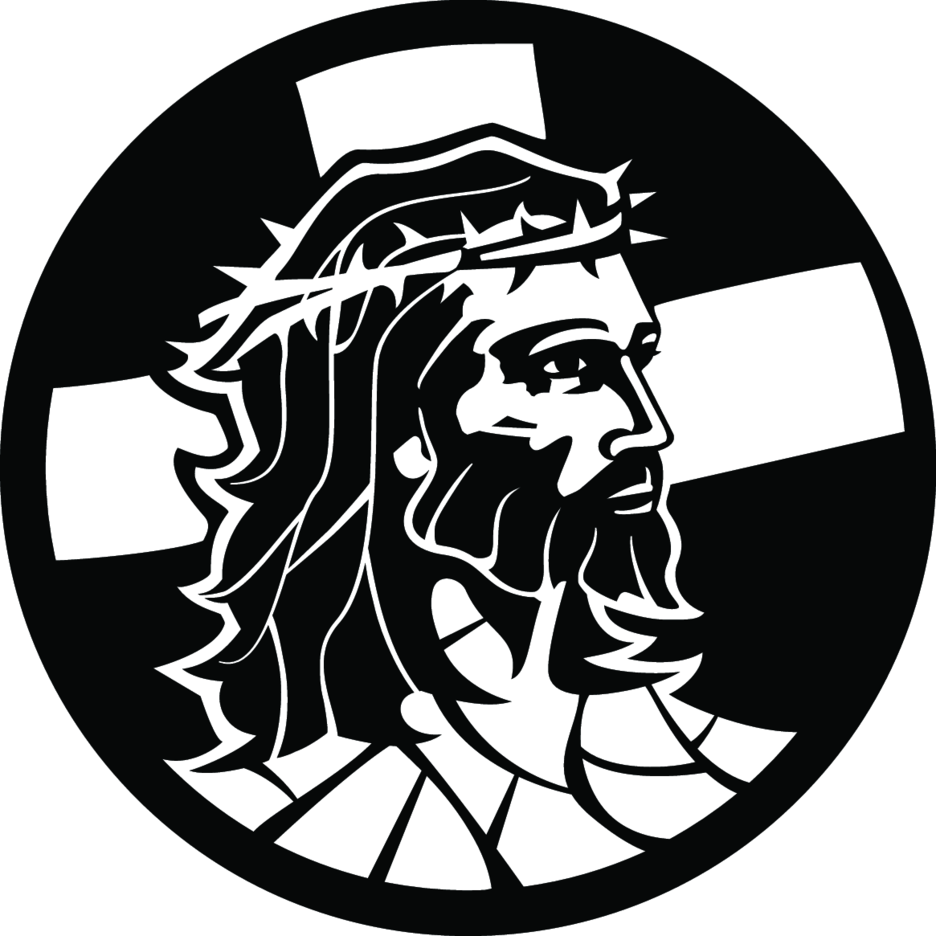 Jesus Christ And Cross Vector