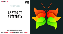 Free Vector Abstract Butterfly