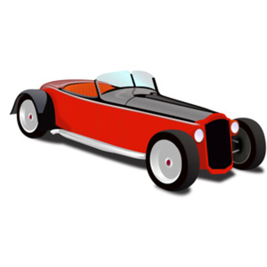 Hot Rod Coupe Vector