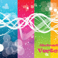 Four Abstract Colored Transprent Art Graphic