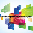 Squars Abstract Colored Free Vector