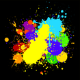 Colourful Messy Splats