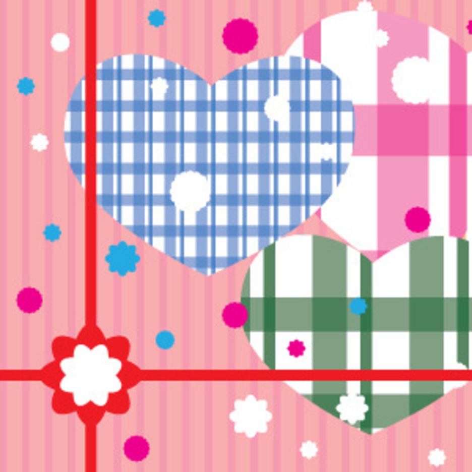 Valentines Day Gift Illustration