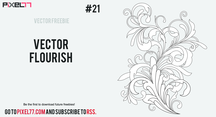 Free Flourish In Vector Format