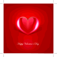 Glossy Red Vector Heart