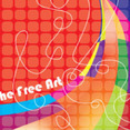 The Dancing Colored Free Vector Graphic