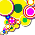 Abstract Circle Shapes