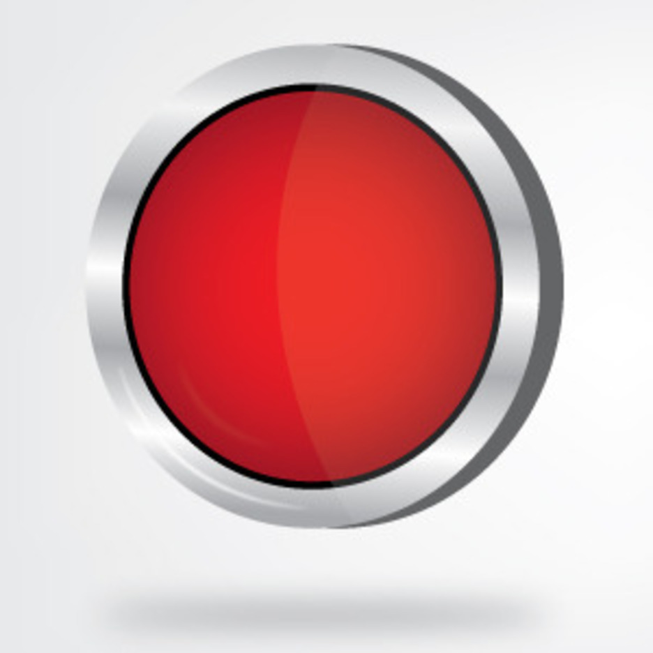 Red And Green Batan Buttons