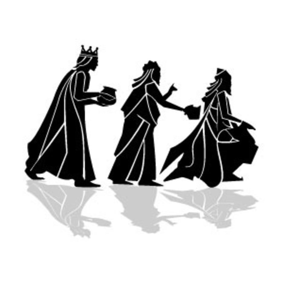 Three Kings Vector Image VP