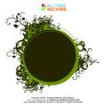 Vector Floral Frame 9