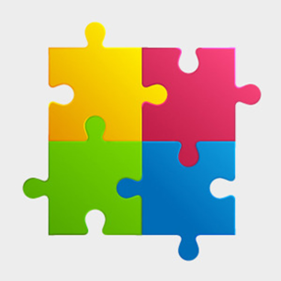 Free Colorful Puzzle Pieces