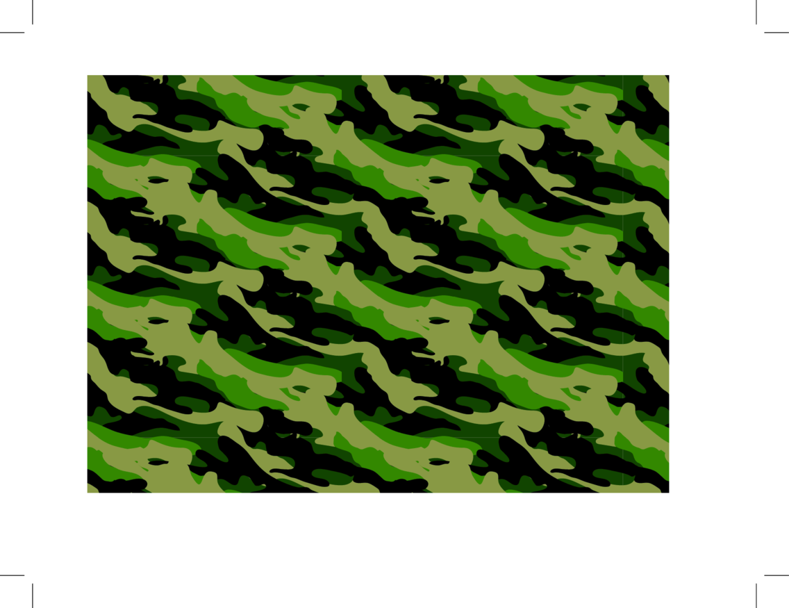Army Camouflage Seamless Vector Pattern