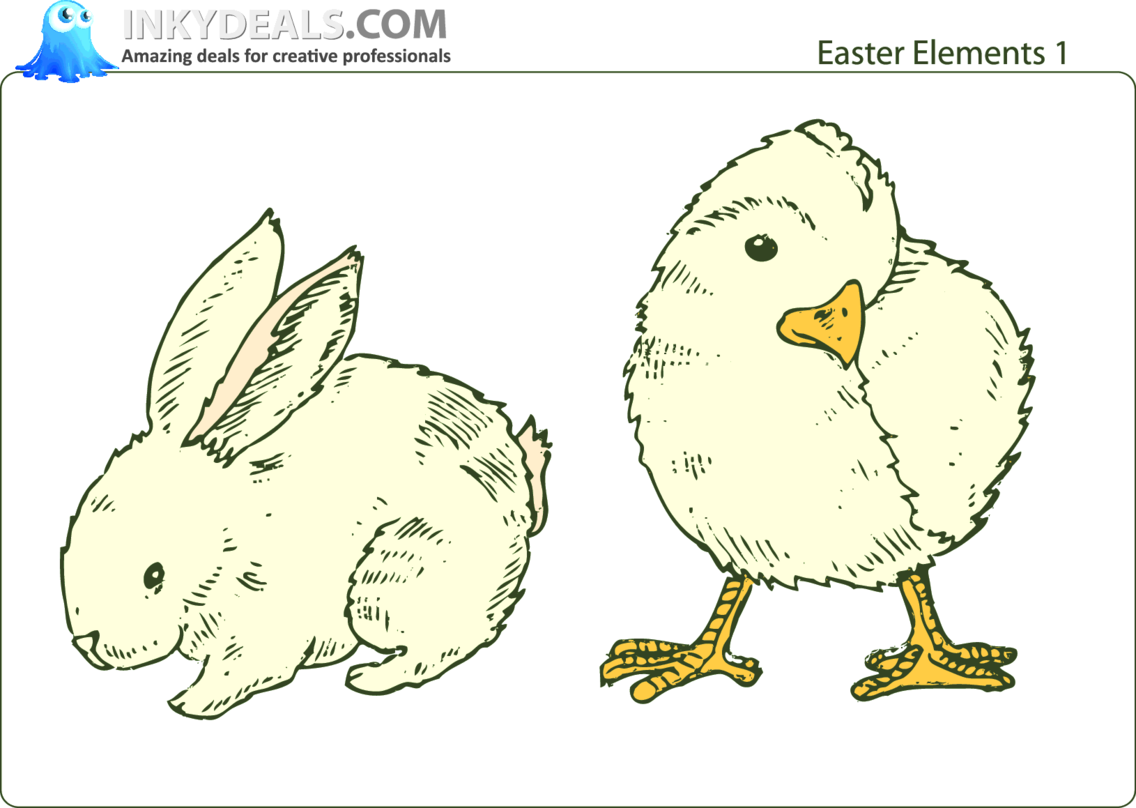 Easter Elements 1
