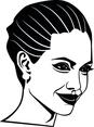 Angelina Jolie Vector