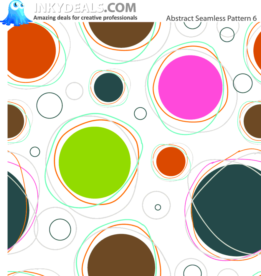 Abstract Vector Seamless Pattern 6