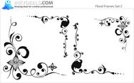 Floral Frames Set 2