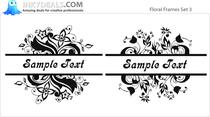 Floral Frames Set 3