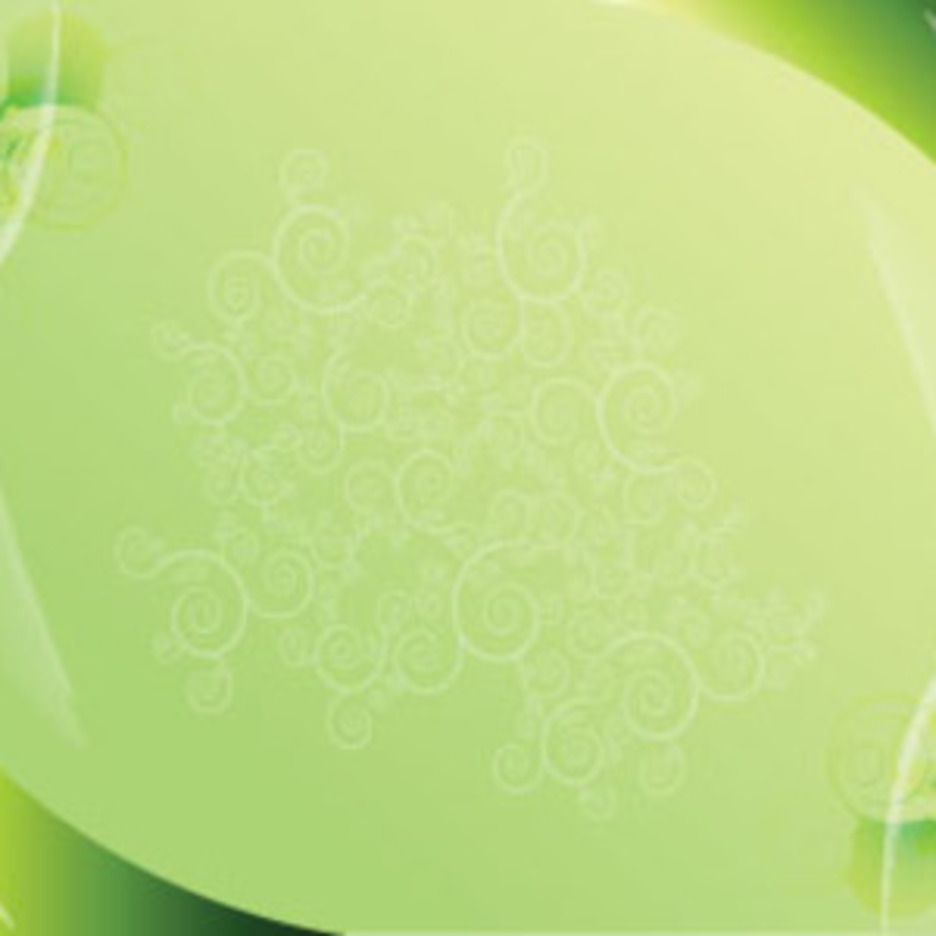 Green Background With Shapes Free Abstract Vector