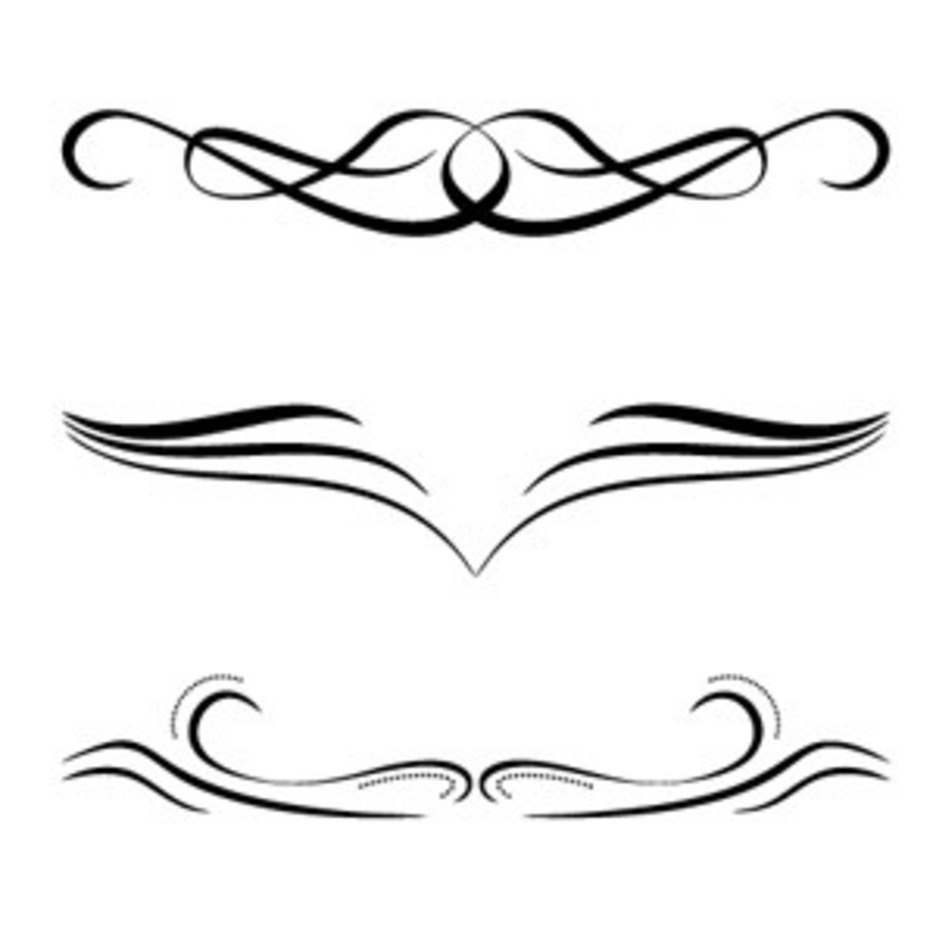 Free Calligraphic Ornaments