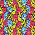 Cute Monsters Pattern