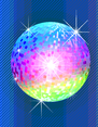 Colourful Disco Ball