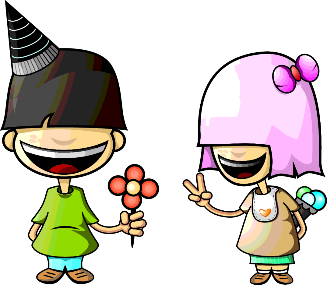 Vector Character Couple
