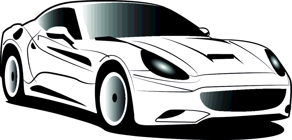 Ferrari Vector Image