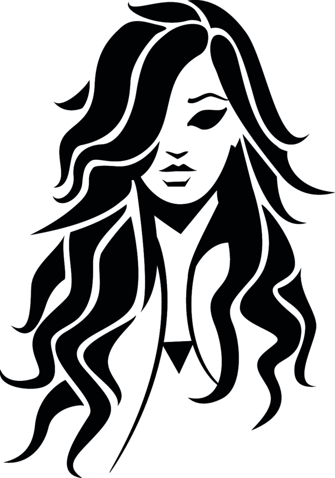 Beautiful Girl Vector Image VP
