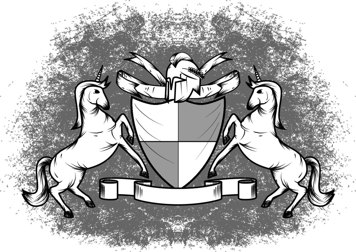 Sketchy Heraldry Vector
