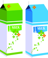 Free Milk Box Vector