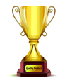 Free Vector Gold Trophy