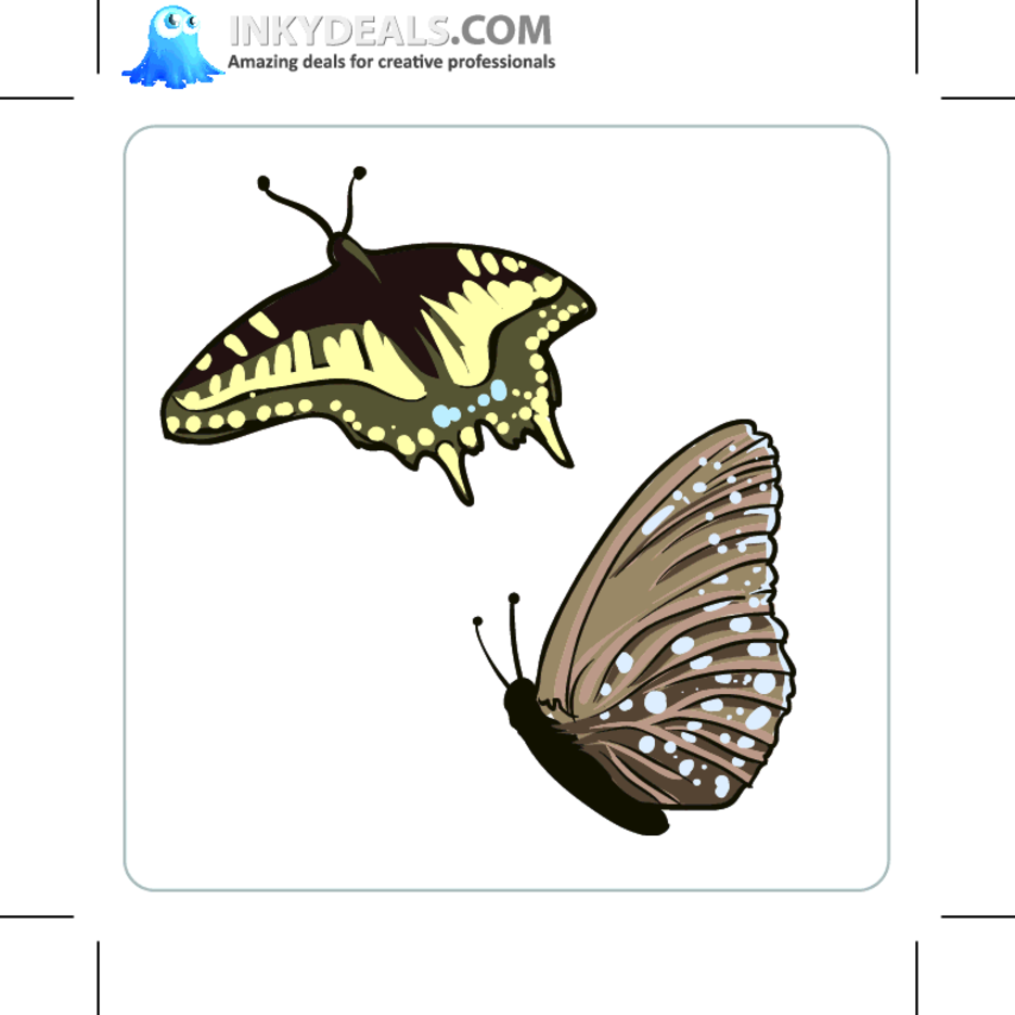 Vector Butterflies 2