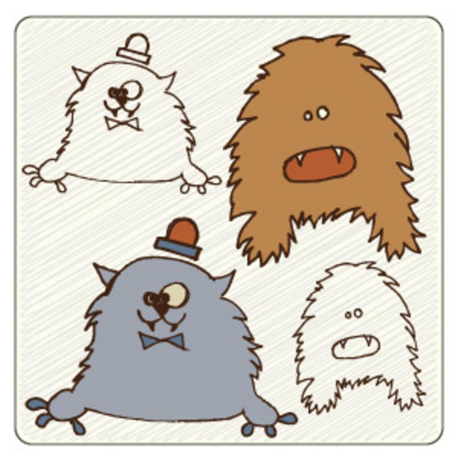 Cute Monsters 4