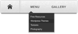 Free Navigation Menu Bar