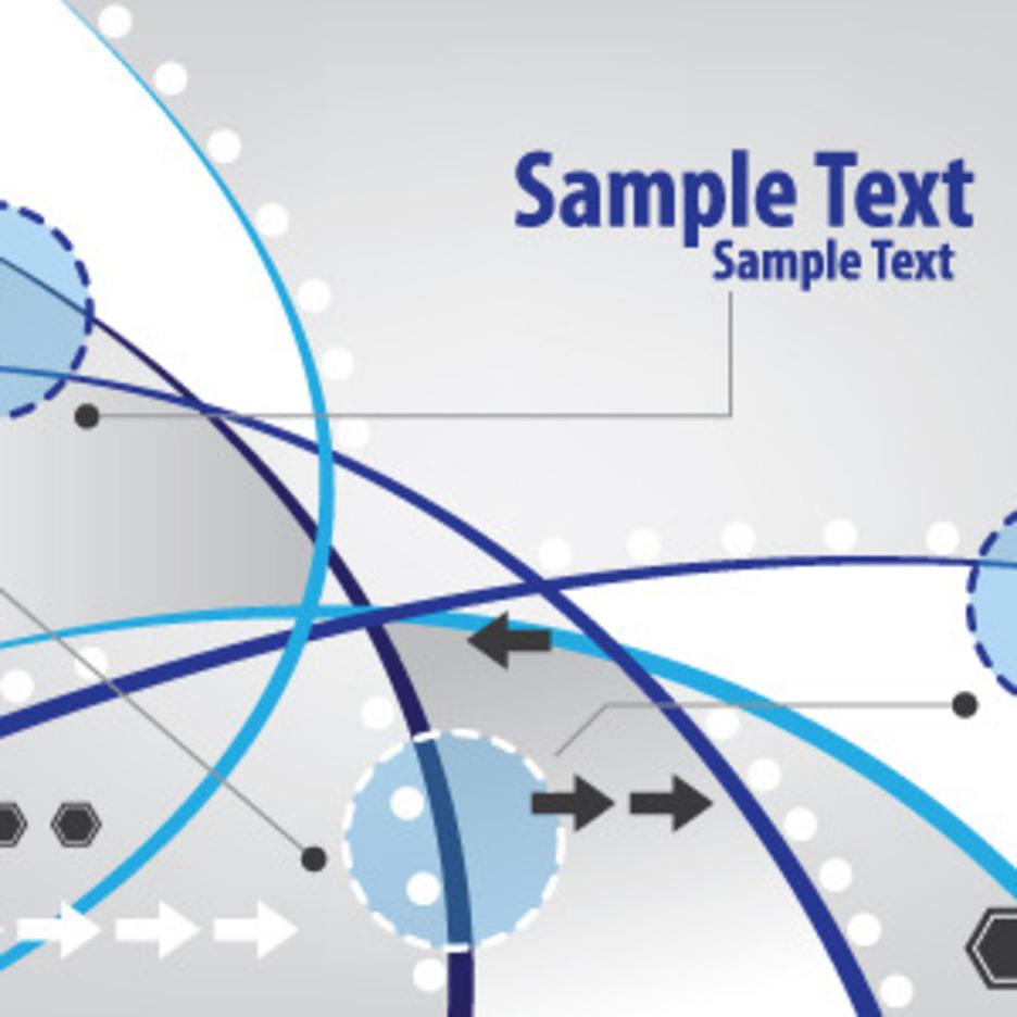 Techno Style Card Design