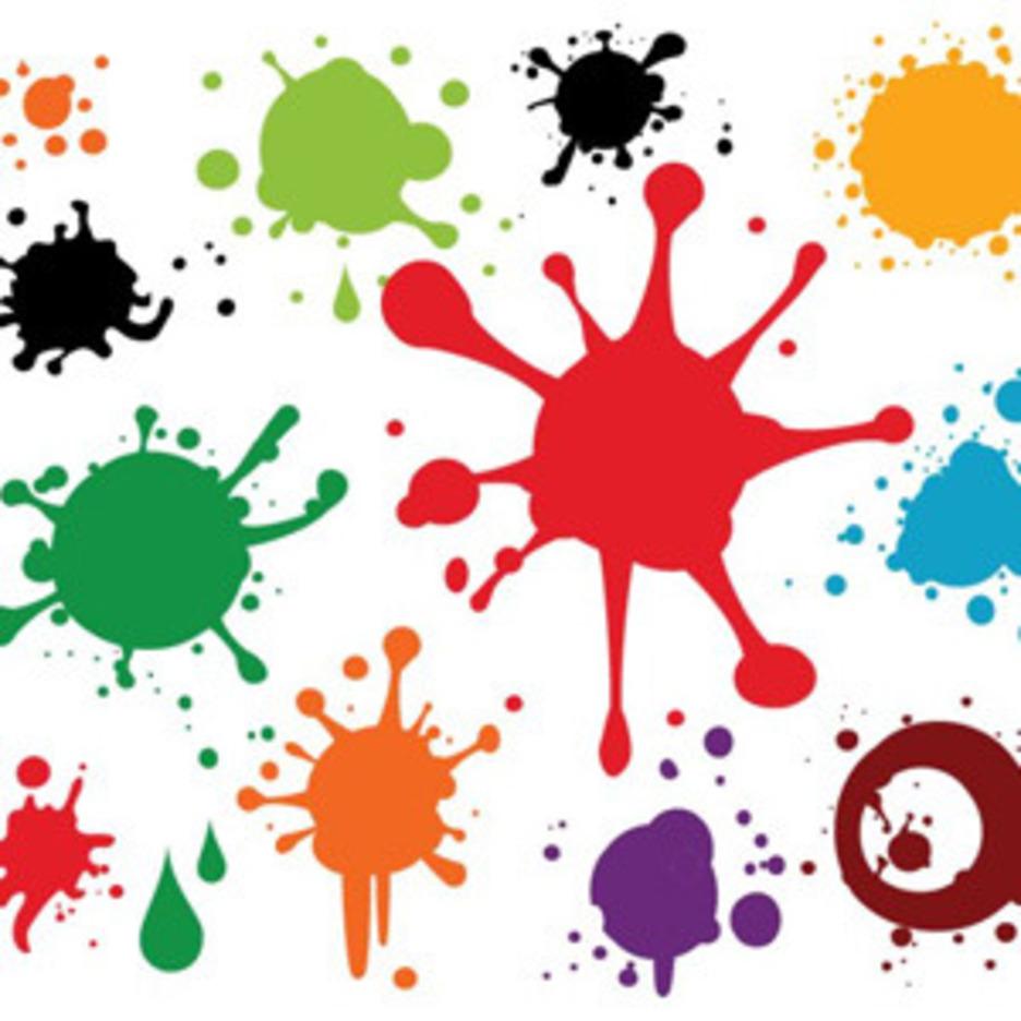 Colourful Paint Spray