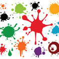 Colourful Paint Spray