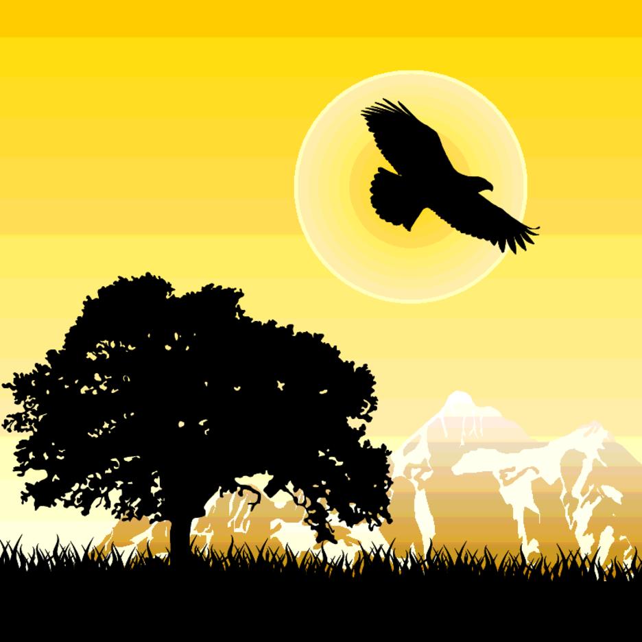 Eagle At Dawn