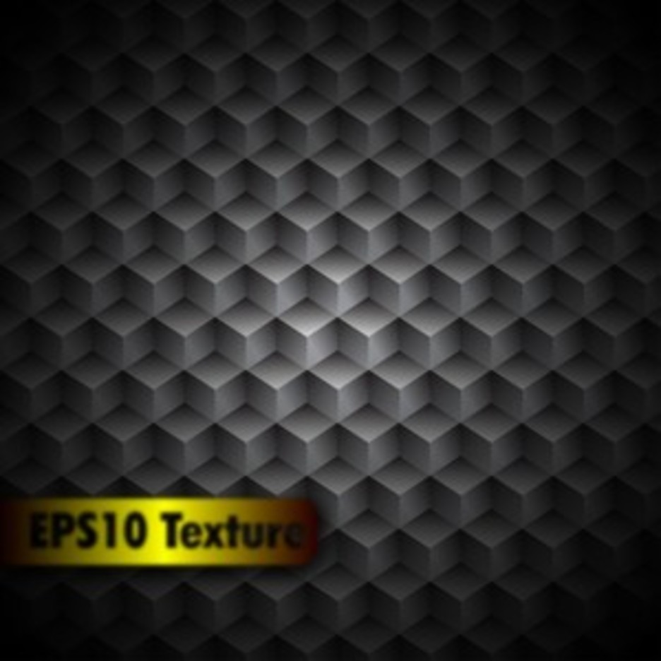 Cubic Metal Texture - Background